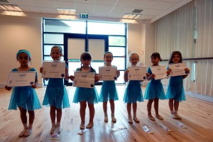 Beginner Ballet Award Day at our Lisburn Branch in the Island Arts Centre, Civic Centre