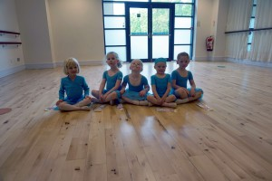 Some of our Pre-School ballet pupils on prize day!
