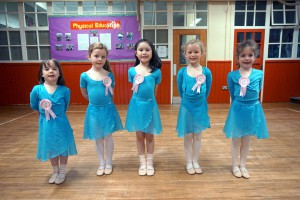 Some of our Saturday morning Pre-Primary in Dance pupils who will be moving up to Primary in Dance in September 2015